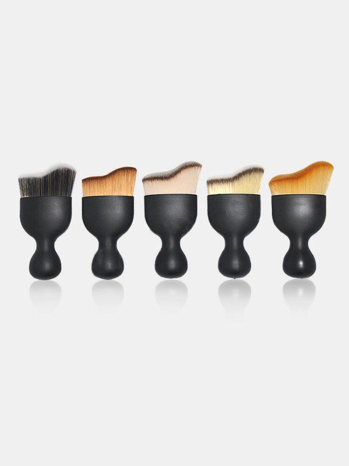 Wave-Shaped Foundation Contour Makeup Brush U-Shaped Makeup Tool